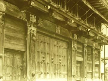 仙台城大手門古写真