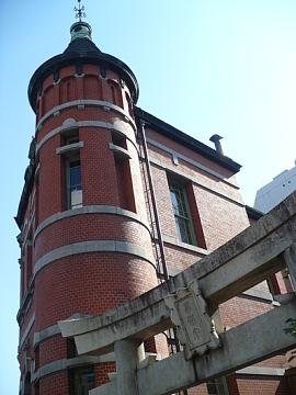 福岡市赤煉瓦文化館と水鏡天満宮