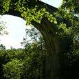 糠平のアーチ橋
