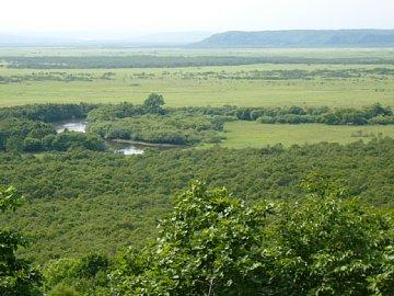 夏の釧路湿原