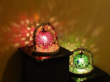 ステンドグラスの明かり2