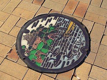 Inuyama_manhole_1